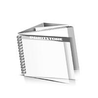 Preislisten drucken  1 PVC Titel- oder End-Blatt Deck-Blatt  2 Seiten Schluss-Blatt  6 Seiten Preislisten mit Wire-O Bindung Drahtkamm links Querformat