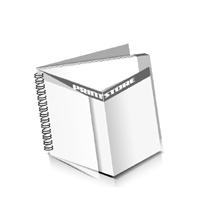 Preislisten drucken  1 PVC Titel- oder End-Blatt Deck-Blatt  4 Seiten Schluss-Blatt  2 Seiten Preislisten mit Wire-O Bindung Drahtkamm links Querformat