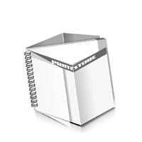 Preislisten drucken  1 PVC Titel- oder End-Blatt Deck-Blatt  4 Seiten Schluss-Blatt  4 Seiten Preislisten mit Wire-O Bindung Drahtkamm links Querformat