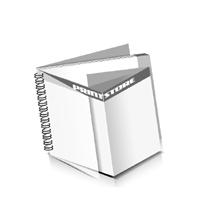 Preislisten drucken  1 PVC Titel- oder End-Blatt Deck-Blatt  6 Seiten Schluss-Blatt  2 Seiten Preislisten mit Wire-O Bindung Drahtkamm links Querformat