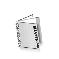 Hardcover Geschäftsberichte drucken Leinen Deckeleinband Wire-O Bindung Quadratformat