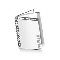 Hardcover Broschüren bedrucken Papier Buchüberzug Wire-O Bindung Hochformat