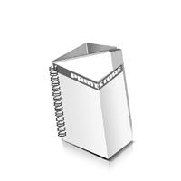 Prospekte drucken Deck-Blatt  4 Seiten Schluss-Blatt  4 Seiten Prospekte mit Drahtkammbindung Drahtkamm links Quadratformat