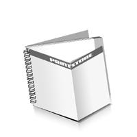 Prospekte drucken Deck-Blatt  4 Seiten Schluss-Blatt  2 Seiten Prospekte mit Drahtkammbindung Drahtkamm links Querformat