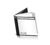 Softcover Kataloge bedrucken  6 Seiten Umschlag PUR-Klebebindung Quadratformat