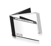 Softcover Kataloge bedrucken  8 Seiten Umschlag PUR-Klebebindung Querformat