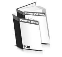 Hardcover Bücher drucken Schutzumschlag Papier Deckeleinband gerader Buchrücken PUR-Klebebindung Buchdruck im Hochformat