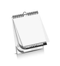 Kalender drucken PVC-Frontblatt Kalenderdeckblatt Kalenderblätter & Kalenderdeckblätter beidseitiger Druck Drahtkammbindungen Kalender Druck im Hochformat