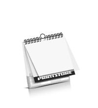 Kalender drucken PVC-Frontblatt Kalenderdeckblatt Kalenderblätter & Kalenderdeckblätter einseitiger Druck Drahtkammbindungen Kalender Druck im Quadratformat