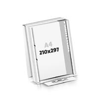 Schrijfblokken drukken flat package 2-voudig boringen Schrijfblokken  A4 (210x297mm)