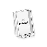 Schrijfblokken drukken flat package 2-voudig boringen Schrijfblokken  A5 (148x210mm)
