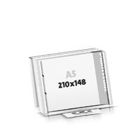 Schrijfblokken drukken flat package 2-voudig boringen Schrijfblokken  A5  kruiselings (210x148mm)