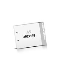 Block  A5  quer (210x148mm) 2-fach Bohrung