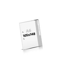 Schrijfblokken drukken 2-voudig boringen Schrijfblokken  A6 (105x148mm)