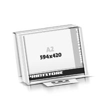 Schreibtischunterlagen drucken Schutzleisten für individuellen Schutzleisten-Einschub Flachverpackung Schreibtischunterlagen  A2 (594x420mm)