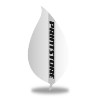 Gestanzte Flyer drucken Stanzform Blatt Beidseitiger Flyerdruck