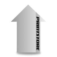 Gestanzte Flugblätter drucken Stanzwerkzeug Pfeil Beidseitiger Online-Druck