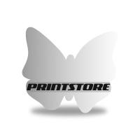 Gestanzte Flyer drucken Stanzform Schmetterling Beidseitiger Flyerdruck