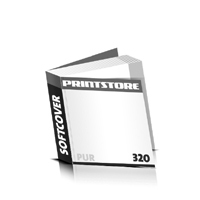Taschenbücher drucken Druck mit schwarzer Druckfarbe  64 Seiten bis  320 Seiten Softcover mit PUR-Klebebindung flexibler, weicher Buchdeckeleinband