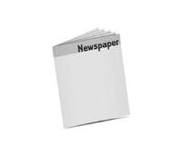 Zeitungen drucken Rheinisches Halbformat (255x350mm) Rotationsoffsetdruck