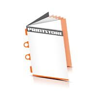 Katalog mit Umschlag