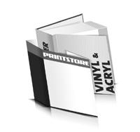 Hardcover Buch Acryl / Vinyl