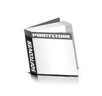 Softcover Broschüren drucken Fadenbindung