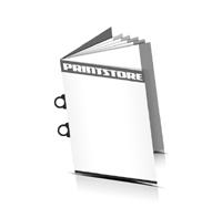 Digitaldruck Prospektemit UmschlagRingösen-Klammern
