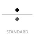 Mappen mit  2 Druckfarben bedruckt min. 5 Werktage Standard-Produktionszeit Stanzform 36080-A-(0)-47.0 Flügelmappen-Füllhöhe: 0mm  Mappen stanzen, falten & kleben Schnellheftmechaniken einkleben