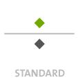 Mappen mit  2 Sonderfarbe bedruckt min. 5 Werktage Standard-Produktionszeit Stanzform 36080-A-(0)-47.0 Flügelmappen-Füllhöhe: 0mm  Mappen stanzen, falten & kleben Schnellheftmechaniken einkleben