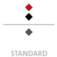 Mappen mit  3 Druckfarben bedruckt min. 5 Werktage Standard-Produktionszeit Stanzform 36080-A-(0)-47.0 Flügelmappen-Füllhöhe: 0mm  Mappen stanzen, falten & kleben Schnellheftmechaniken einkleben