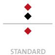Mappen mit  2 Druckfarben bedruckt (Schwarz +  1 x HKS / Pantone) Rückseite  1 Sonderfarbe Sonderfarbe der Rückseite wird auch auf Vorderseite verwendet min. 5 Werktage Standard-Produktionszeit Stanzform 36080-A-(0)-47.0 Flügelmappen-Füllhöhe: 0mm  Mappen stanzen, falten & kleben Schnellheftmechaniken einkleben