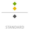 Mappen mit  3 Sonderfarben bedruckt min. 5 Werktage Standard-Produktionszeit Stanzform 36080-A-(0)-47.0 Flügelmappen-Füllhöhe: 0mm  Mappen stanzen, falten & kleben Schnellheftmechaniken einkleben