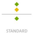 Mappen mit  2 Sonderfarben bedruckt ( 2 x HKS / Pantone) Rückseite  1 Sonderfarbe Sonderfarbe der Rückseite wird auch auf Vorderseite verwendet min. 5 Werktage Standard-Produktionszeit Stanzform 36080-A-(0)-47.0 Flügelmappen-Füllhöhe: 0mm  Mappen stanzen, falten & kleben Schnellheftmechaniken einkleben