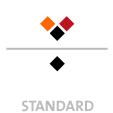 Mappen mit  3 Druckfarben bedruckt (Schwarz +  2 x HKS / Pantone) Rückseite Schwarz min. 5 Werktage Standard-Produktionszeit Stanzform 36080-A-(0)-47.0 Flügelmappen-Füllhöhe: 0mm  Mappen stanzen, falten & kleben Schnellheftmechaniken einkleben