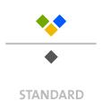 Mappen mit  4 Sonderfarben bedruckt min. 5 Werktage Standard-Produktionszeit Stanzform 36080-A-(0)-47.0 Flügelmappen-Füllhöhe: 0mm  Mappen stanzen, falten & kleben Schnellheftmechaniken einkleben