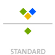 Mappen mit  3 Sonderfarben bedruckt ( 3 x HKS / Pantone) Rückseite  1 Sonderfarbe Sonderfarbe der Rückseite wird auch auf Vorderseite verwendet min. 5 Werktage Standard-Produktionszeit Stanzform 36080-A-(0)-47.0 Flügelmappen-Füllhöhe: 0mm  Mappen stanzen, falten & kleben Schnellheftmechaniken einkleben
