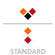Mappen mit  3 Druckfarben bedruckt (Schwarz +  2 x HKS / Pantone) Rückseite  2 Sonderfarben Sonderfarben der Rückseite werden auch auf Vorderseite verwendet min. 5 Werktage Standard-Produktionszeit Stanzform 36080-A-(0)-47.0 Flügelmappen-Füllhöhe: 0mm  Mappen stanzen, falten & kleben Schnellheftmechaniken einkleben