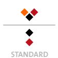 Mappen mit  3 Druckfarben bedruckt (Schwarz +  2 x HKS / Pantone) Rückseite Schwarz und  1 Sonderfarbe Sonderfarbe der Rückseite wird auch auf Vorderseite verwendet min. 5 Werktage Standard-Produktionszeit Stanzform 36080-A-(0)-47.0 Flügelmappen-Füllhöhe: 0mm  Mappen stanzen, falten & kleben Schnellheftmechaniken einkleben