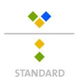 Mappen mit  3 Sonderfarben bedruckt ( 3 x HKS / Pantone) Rückseite  2 Sonderfarben Sonderfarben der Rückseite werden auch auf Vorderseite verwendet min. 5 Werktage Standard-Produktionszeit Stanzform 36080-A-(0)-47.0 Flügelmappen-Füllhöhe: 0mm  Mappen stanzen, falten & kleben Schnellheftmechaniken einkleben