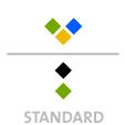 Mappen mit  3 Sonderfarben bedruckt ( 3 x HKS / Pantone) Rückseite Schwarz und  1 Sonderfarbe Sonderfarbe der Rückseite wird auch auf Vorderseite verwendet min. 5 Werktage Standard-Produktionszeit Stanzform 36080-A-(0)-47.0 Flügelmappen-Füllhöhe: 0mm  Mappen stanzen, falten & kleben Schnellheftmechaniken einkleben