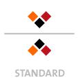 Mappen mit  3 Druckfarben bedruckt (Schwarz +  2 x HKS / Pantone) min. 5 Werktage Standard-Produktionszeit Stanzform 36080-A-(0)-47.0 Flügelmappen-Füllhöhe: 0mm  Mappen stanzen, falten & kleben Schnellheftmechaniken einkleben