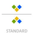 Mappen mit  3 Sonderfarben bedruckt ( 3 x HKS / Pantone) min. 5 Werktage Standard-Produktionszeit Stanzform 36080-A-(0)-47.0 Flügelmappen-Füllhöhe: 0mm  Mappen stanzen, falten & kleben Schnellheftmechaniken einkleben