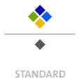 Mappen mit  5 Sonderfarben bedruckt min. 5 Werktage Standard-Produktionszeit Stanzform 36080-A-(0)-47.0 Flügelmappen-Füllhöhe: 0mm  Mappen stanzen, falten & kleben Schnellheftmechaniken einkleben