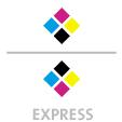 Mappen mit  4 Druckfarben bedruckt (CMYK) min. 3 Werktage Express-Produktionszeit Stanzform 36080-A-(0)-47.0 Flügelmappen-Füllhöhe: 0mm  Mappen stanzen, falten & kleben Schnellheftmechaniken einkleben