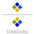 Mappen mit  4 Sonderfarben bedruckt ( 4 x HKS / Pantone) min. 5 Werktage Standard-Produktionszeit Stanzform 36080-A-(0)-47.0 Flügelmappen-Füllhöhe: 0mm  Mappen stanzen, falten & kleben Schnellheftmechaniken einkleben