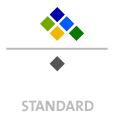 Mappen mit  6 Sonderfarben bedruckt min. 5 Werktage Standard-Produktionszeit Stanzform 36080-A-(0)-47.0 Flügelmappen-Füllhöhe: 0mm  Mappen stanzen, falten & kleben Schnellheftmechaniken einkleben