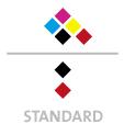 Mappen mit  5 Druckfarben bedruckt (CMYK +  1 x HKS / Pantone) Rückseite Schwarz und  1 Sonderfarbe Sonderfarbe der Rückseite wird auch auf Vorderseite verwendet min. 5 Werktage Standard-Produktionszeit Stanzform 36080-A-(0)-47.0 Flügelmappen-Füllhöhe: 0mm  Mappen stanzen, falten & kleben Schnellheftmechaniken einkleben