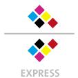 Mappen mit  5 Druckfarben bedruckt (CMYK +  1 x HKS / Pantone) min. 3 Werktage Express-Produktionszeit Stanzform 36080-A-(0)-47.0 Flügelmappen-Füllhöhe: 0mm  Mappen stanzen, falten & kleben Schnellheftmechaniken einkleben