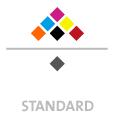 Mappen mit  7 Druckfarben bedruckt min. 5 Werktage Standard-Produktionszeit Stanzform 36080-A-(0)-47.0 Flügelmappen-Füllhöhe: 0mm  Mappen stanzen, falten & kleben Schnellheftmechaniken einkleben